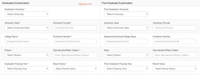 AUD MBA Application Form 2019