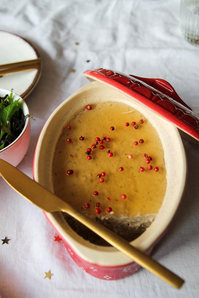 Mousse de foie gras végétal