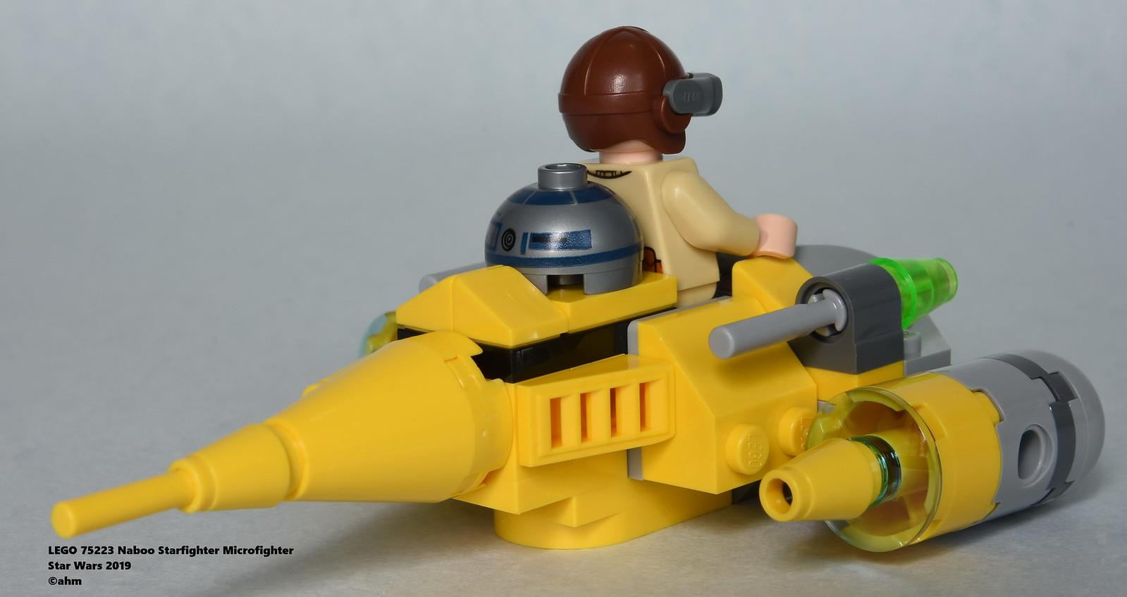 Star Wars Lego 75223 Naboo Starfighter Microfighter Flickr