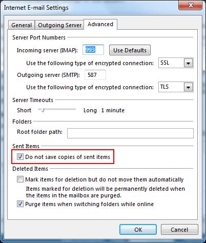 Cách khắc phục Outlook gửi nhiều lần với tài khoản Gmail - 03