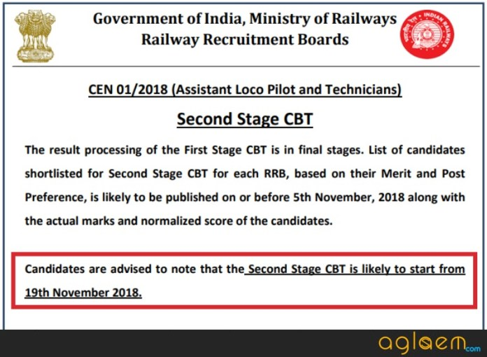 RRB ALP Second Stage CBT