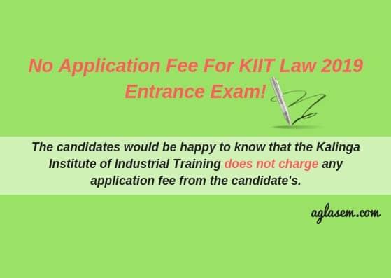 KIIT Law Entrance Exam 2019
