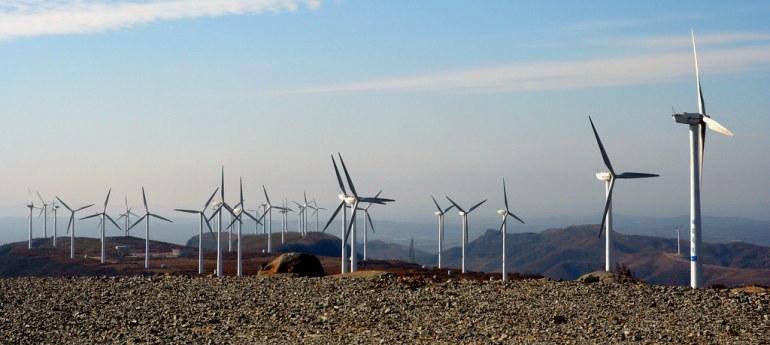 Resultado de imagen de wind farm china