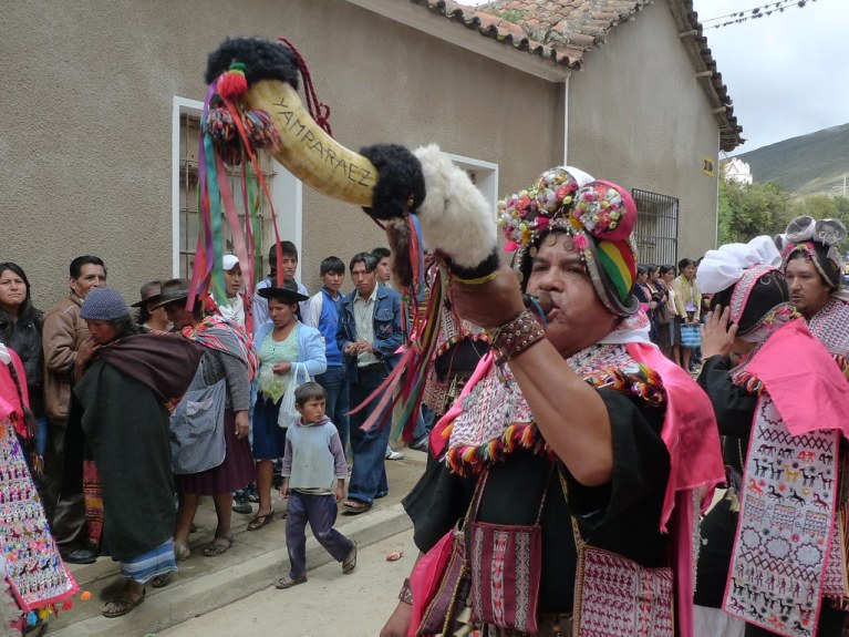 Image result for pujllay festival bolivia