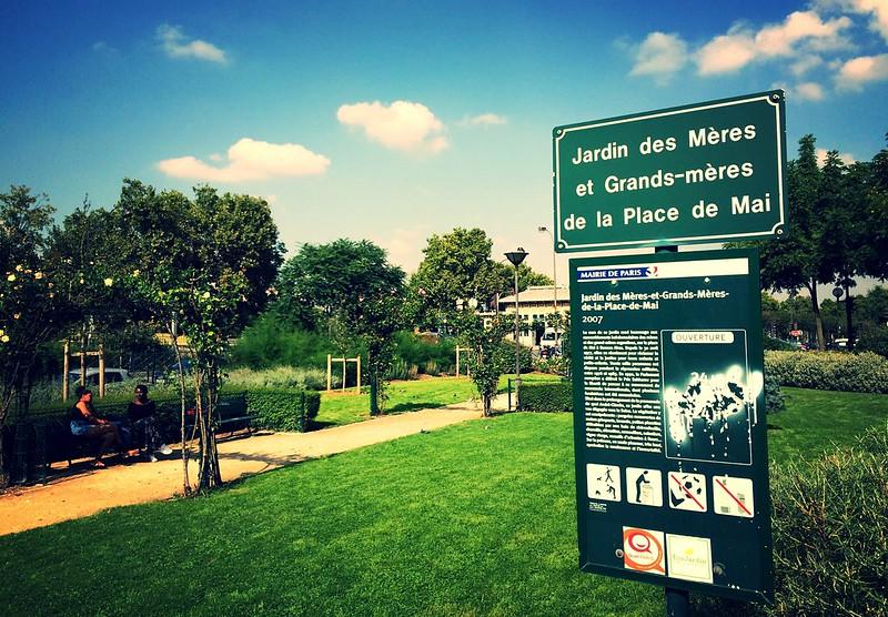 Jardin des Mères et Grands-Mères de la Place de Mai
