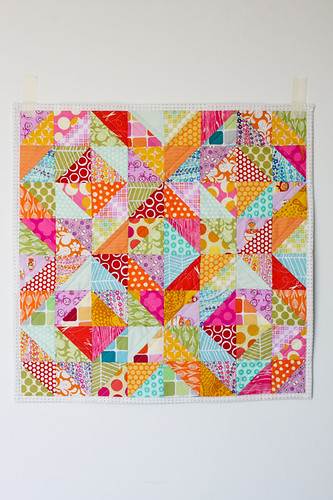 """Warm Cool Quilt Along - Finished 