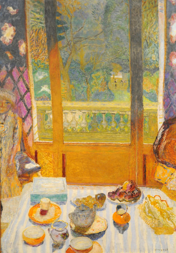 Pierre Bonnard Dining Room Overlooking The Garden The Br