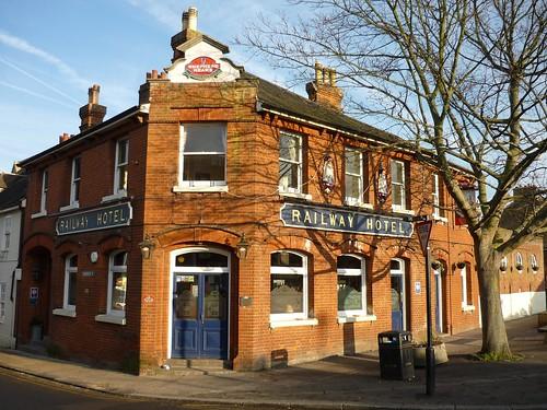 The Railway Hotel, Faversham, England