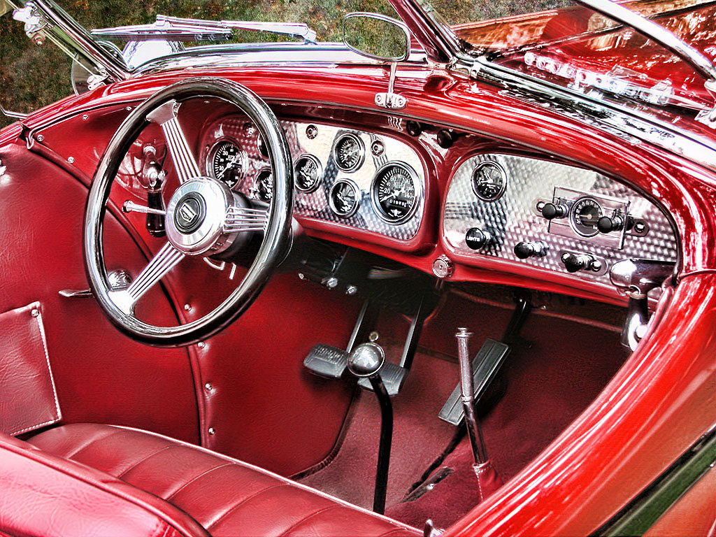 Auburn Speedster Interior   Photographed at Fort Vancouver        Flickr     Auburn Speedster Interior   by tebphotos