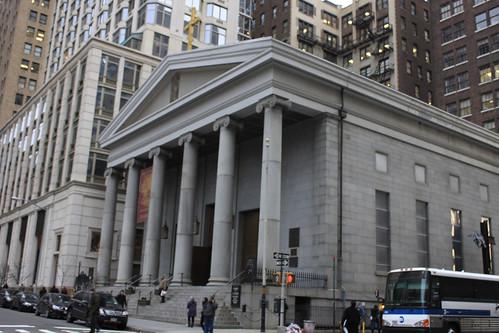 St Peters Church Financial District Manhattan New