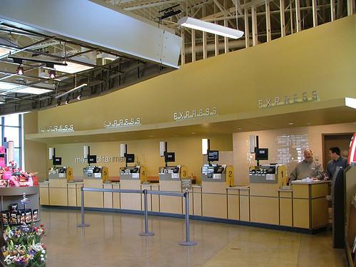 Grocery Checkout Area Express Lane Dcor Market Expres