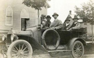 1916 Ford Model T Touring Canadian Built