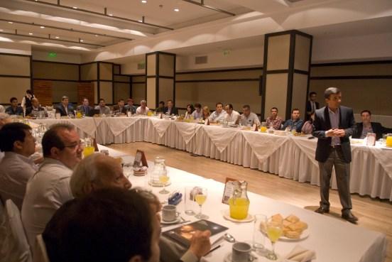 Jorge Montaldi, Gerente de Relaciones Institucionales de Minera Alumbrera