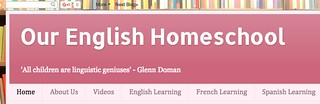 Our English Homeschool