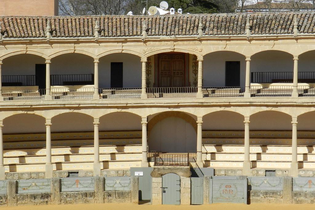 palcos interior de Plaza de Toros de Ronda Malaga 07