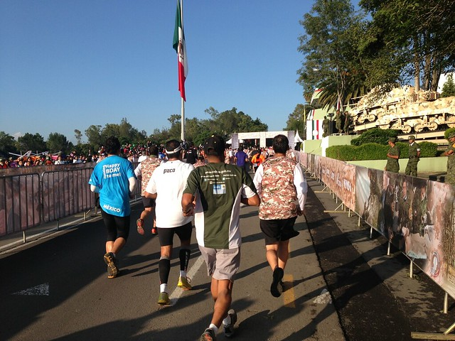 Medio Maratón del Centenario del Ejército Mexicano