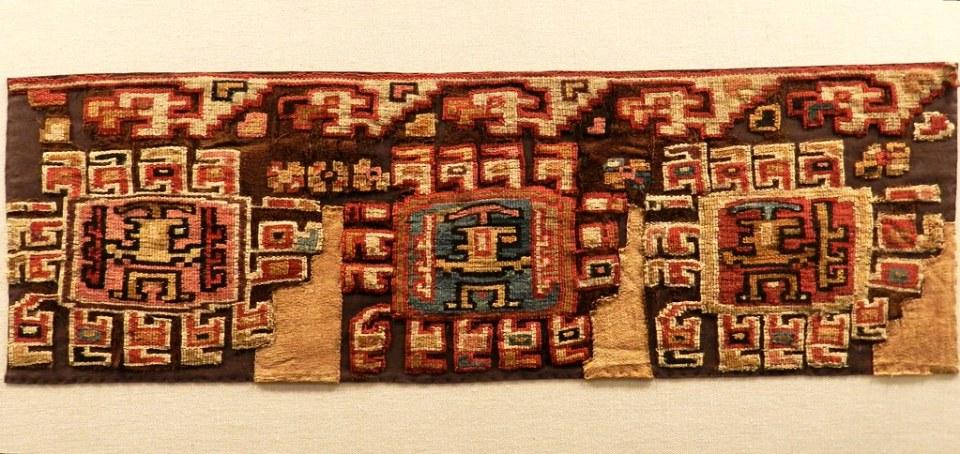 Lima objeto textil Museo del Banco Central Reserva del Peru 095