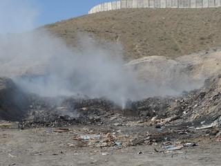 Open - Air Burn Pit Emissions at FOB Sharana   Source ...