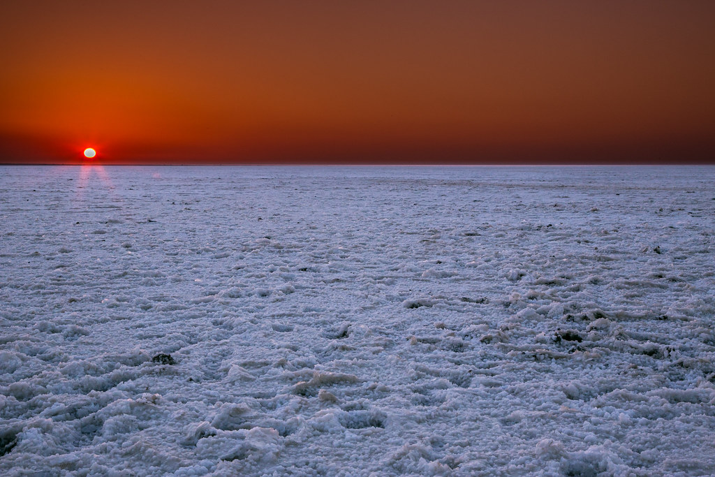 Sunset at White Rann of Kutch , Gujarat, India | by dpbirds- Most surreal places to visit