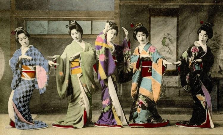 Shinbashi Genroku Odori 1908