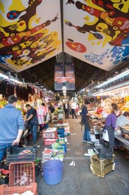 La Boqueria market Barcelona spain