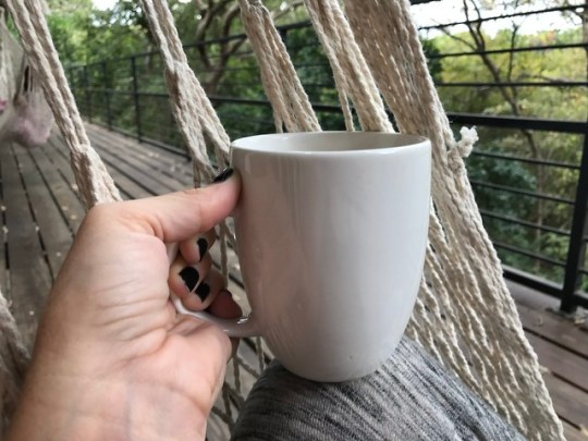 coffee in the hammock