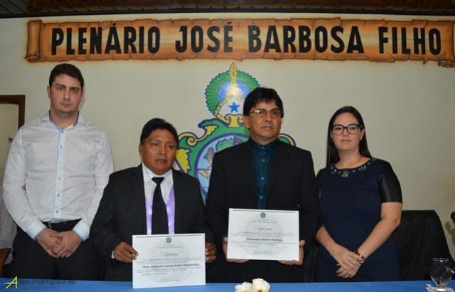 Justiça pode cassar mandato de 3 vereadores, prefeito e vice de Jacareacanga, Posses dos eleitos em Jacareacanga