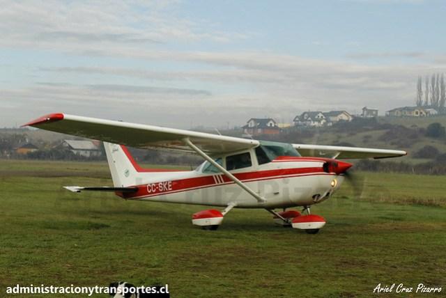 Cessna 172N Skyhawk CC-SKE (Club Aéreo de Castro)
