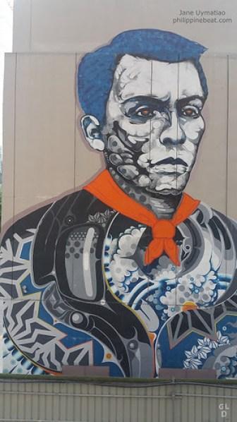 Bonifacio mural