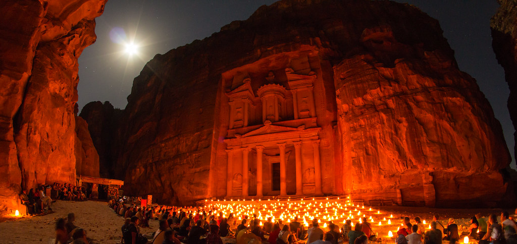 ????? ??? ????? ?? ?petra by night??
