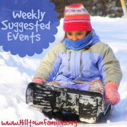 """Hilltown Families keeps us busy doing all sorts of fun and amazing things every weekend… and there's no time left for winter blues!"" – Erin Klett (Greenfield, MA)"