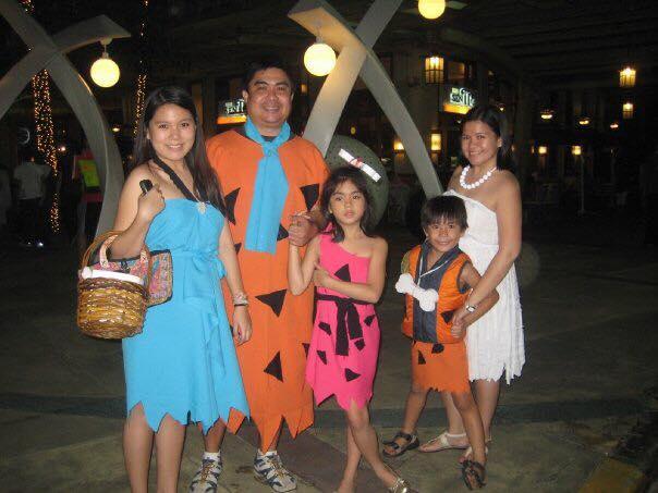 DIY Halloween Costume The Flintstones