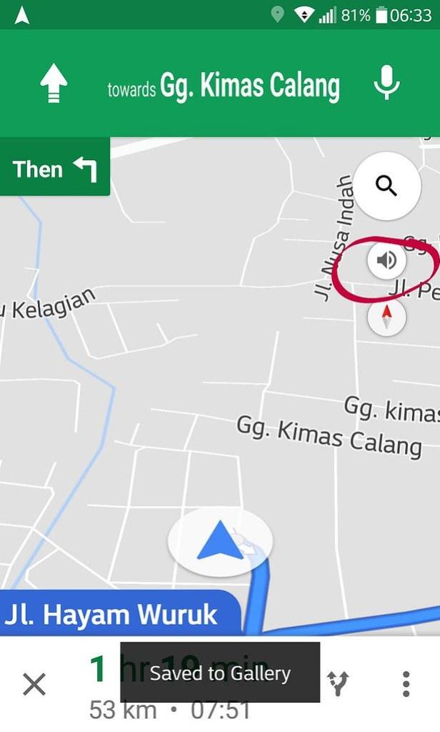 cara menggunakan google maps suara