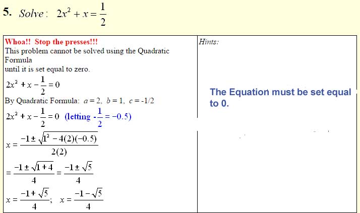 Quadratic Formula-7