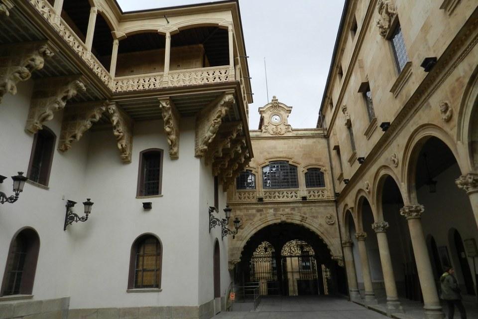 patio Palacio de La Salina Salamanca 05