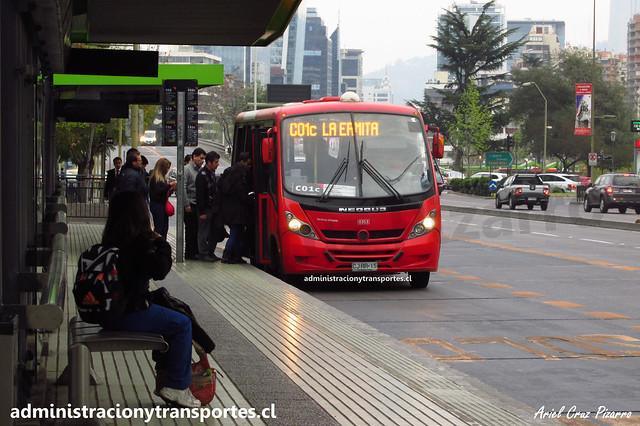 Transantiago C01c | Redbus | Neobus Thunder - Mercedes benz / CJRR15