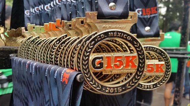 Carrera Gatorade G15K Ciudad de México
