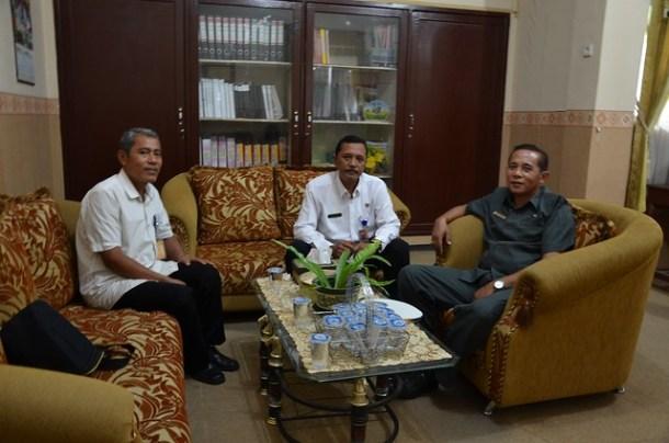 Kunjungan KPU Tulungagung ke SMKN 1 Boyolangu (10/11)