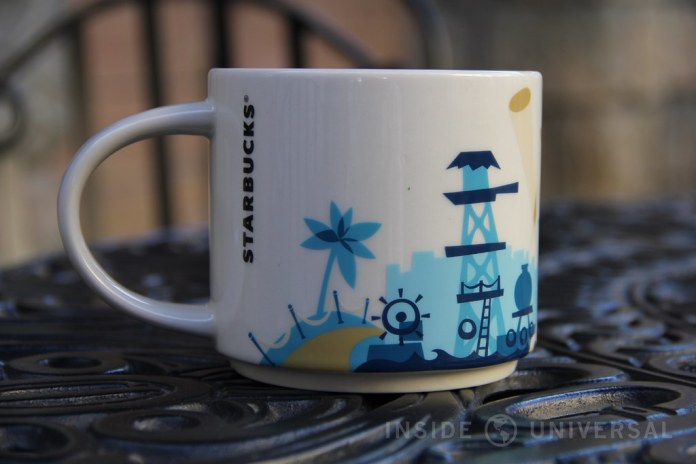 """Universal Studios Hollywood-themed """"You Are Here"""" Starbucks mug released"""