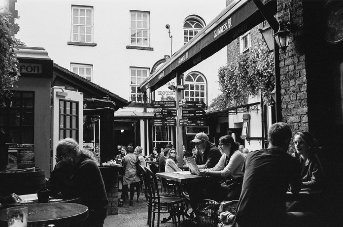 Inside the oldest pub in Ireland