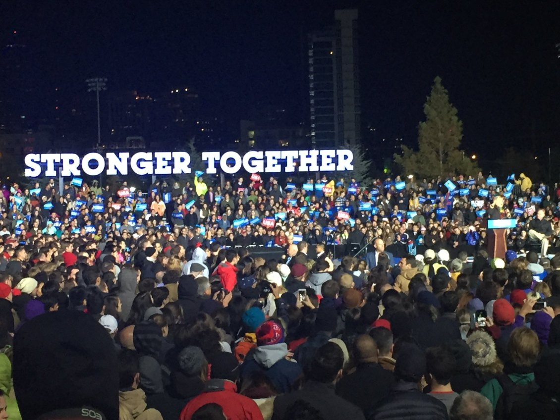Clinton-Kaine Rally