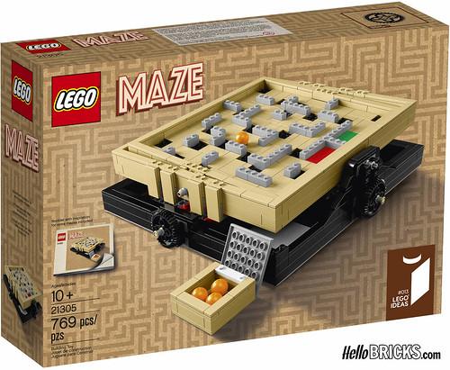 Lego 21305 - Ideas - MAZE