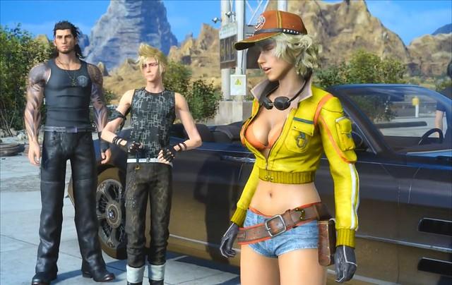 Final Fantasy XV - Cindy