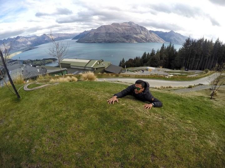 Mendaki bukit la tu konon..hahaha