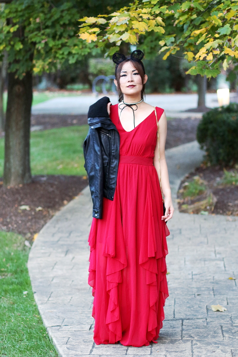 shein-red-maxi-dress-leather-jacket-11