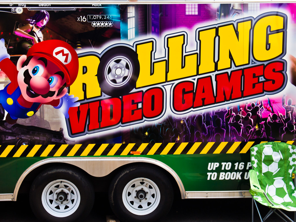Rolling Video Games A Rolling Concession At Three Rivers