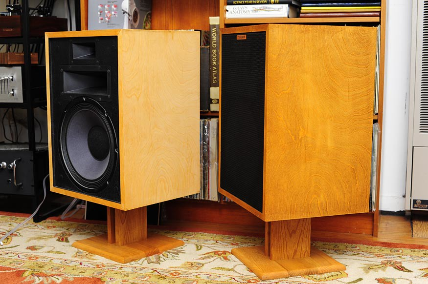 Klipsch Heresy II Refinishing Project OH Yeah Baby
