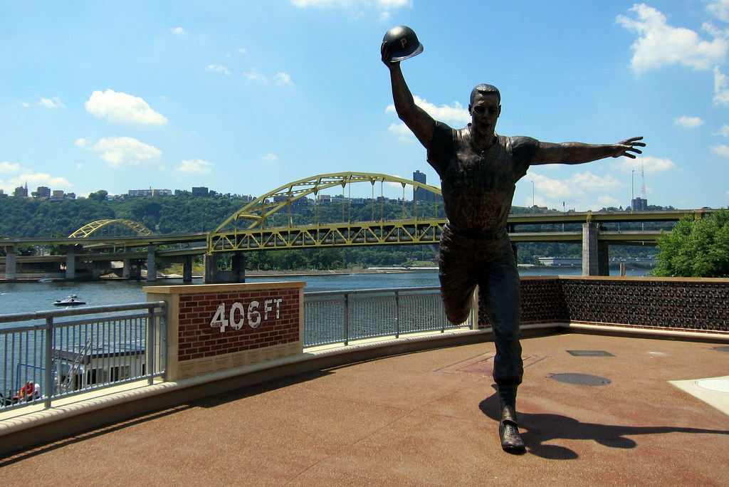 Pittsburgh PNC Park Bill Mazeroski Statue This Statue O Flickr