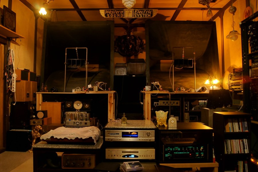 Western Electric Sound System   Nazono Kamadasan   Flickr     Western Electric Sound System   by zeniarzo