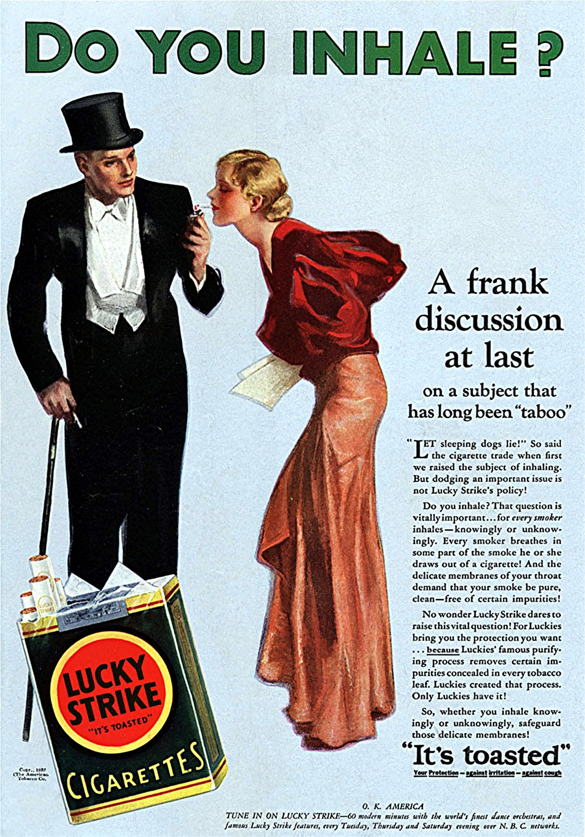 Lucky Strike - published in House and Garden - October 1932